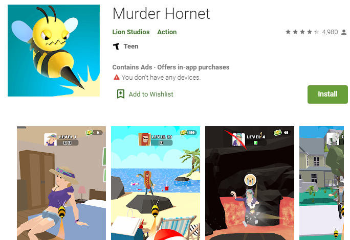 Murder Hornet for Windows and Mac