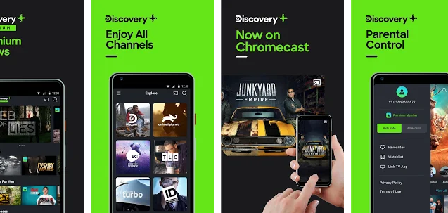 Discovery Plus for Mac