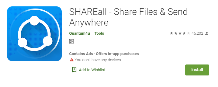 SHAREall Download for PC