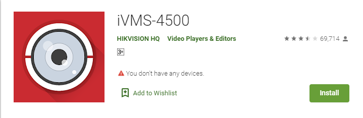 iVMS-4500 App Download for PC