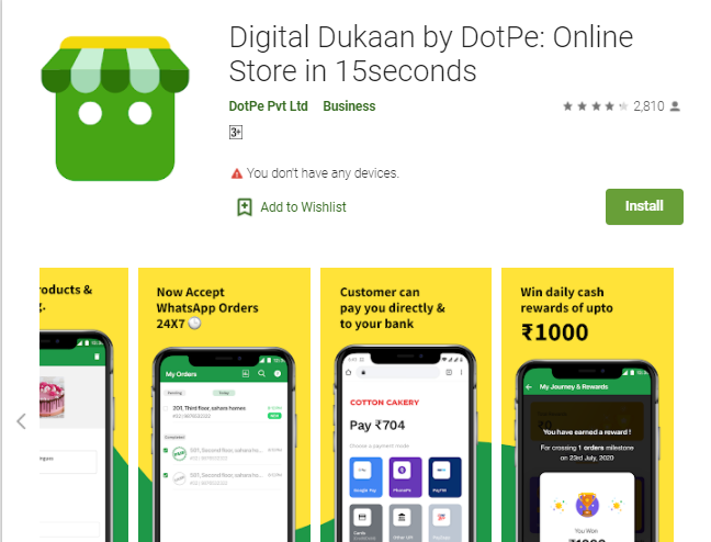 Digital Dukaan by DotPE for Laptop