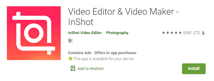Inshot for Mac PC Laptop