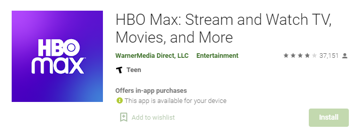 HBO Max for Mac PC