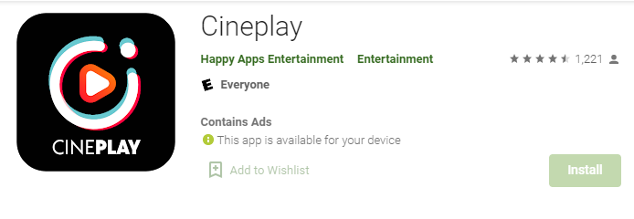 Cineplay for Mac PC