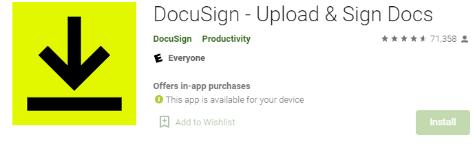 DocuSign for Mac PC