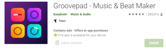 Groovepad for Mac PC