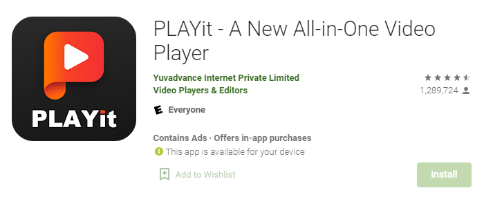 Playit for Mac PC