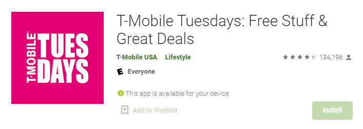 T-Mobile Tuesdays for Mac PC