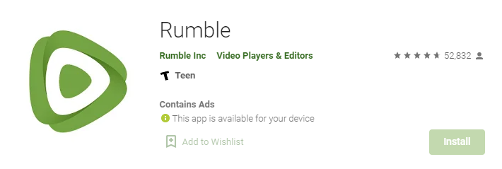 Rumble for Mac PC